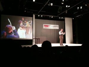Robert began his TEDx talk at Princeton by talking about his first musical theater experience