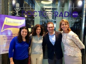 Dr. Radio interview with Suzy Perelman, Susan Hershman and Dr. Robert Accordino