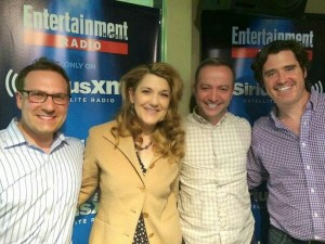 Entertainment Weekly Radio interview with Mario Correa, Bill Keith, Victoria Clark and Dr. Robert Accordino